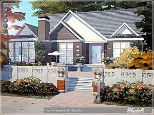 Bluebell Starter House sims 4 cc