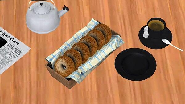 Breakfast Bagels