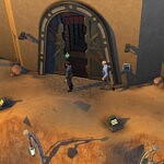 Cantina Door Fix Star Wars sims 4 cc
