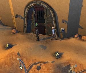 Cantina Door Fix Star Wars sims 4 cc