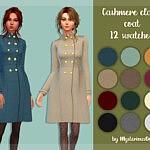 Cashmere classic coat