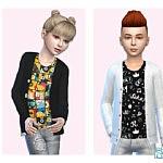 Charlie Cardy Tee Sims 4 CC