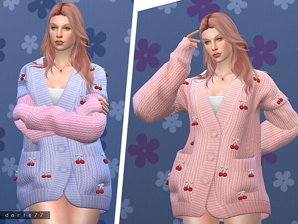 Cherry Knit Sweater by Darte77 from TSR