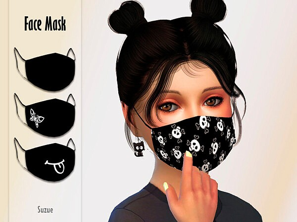 Child Face Mask sims 4 cc