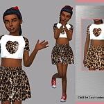Child Set Lara Sims 4 CC