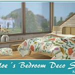 Chloes Bedroom Deco Set sims 4 cc