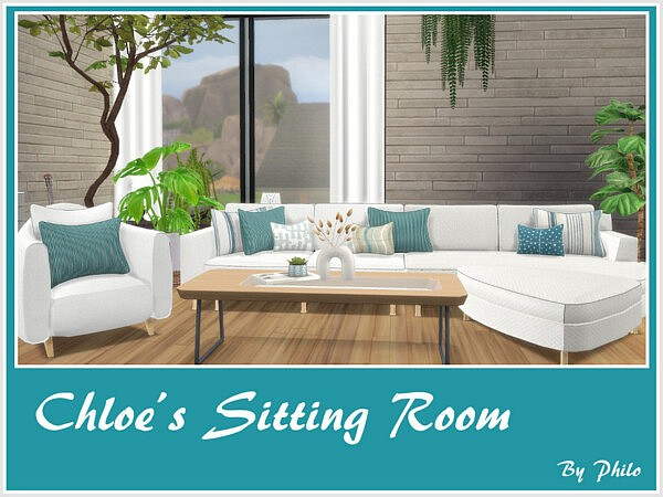 Chloes Sitting Room by philo from TSR