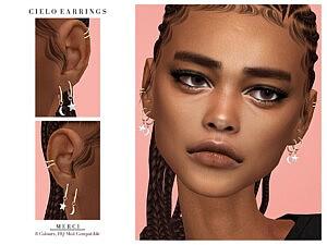 Cielo Earrings sims 4 cc