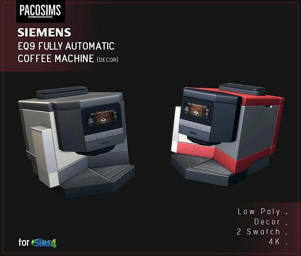 Coffee Maker Sims 4 CC