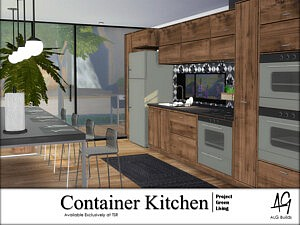 Container Kitchen sims 4 cc