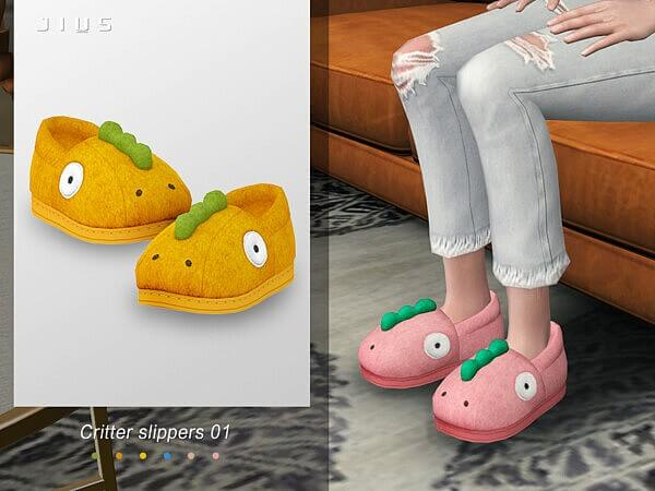 Critter slippers 01 by Jius from TSR