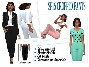 Cropped Pants Sims 4 CC