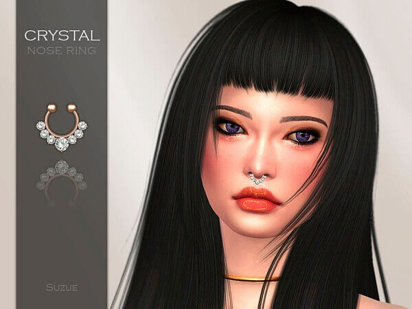 Crystal Nose Ring by Suzue from TSR