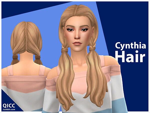 Cynthia Hair by qicc from TSR