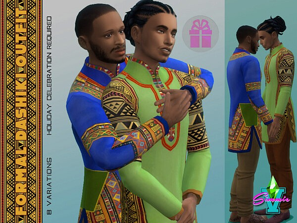 Dashiki Outfit by SimmieV