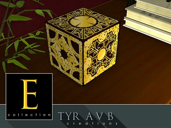 Decorative Cube E collection by TyrAVB from TSR