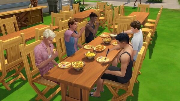 Deep Fryer Family Diner Lot Trait and Sauce Pairing
