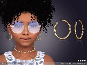Deidre Hoop Earrings G by feyona