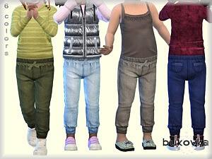 Denim Pants Toddler Girls Sims 4 CC