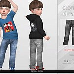 Denim Pants for Toddler 02 sims 4 cc