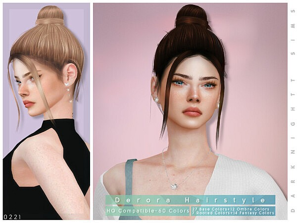 Derora Hairstyle by DarkNighTt from TSR