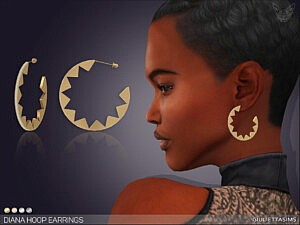 Diana Hoop Earrings by feyona