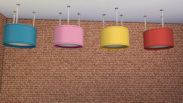 Dine Out ceiling light sims 4 cc