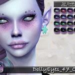 Dolly Eyes 47 sims 4 cc