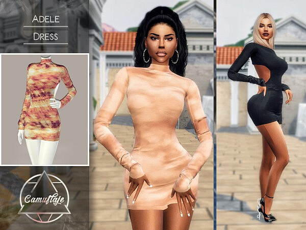 Adele Dress by Camuflaje from TSR
