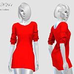 Dress N 291 sims 4 cc