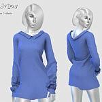 Dress N 293 sims 4 cc