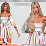 Dress Valentine's Day I by Viy Sims
