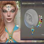 Earrings Elves by DanSimsFantasy