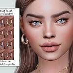 Earrings NB05 Sims 4 CC