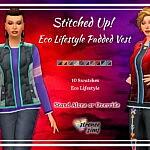 Eco Lifestyle Vest sims 4 cc