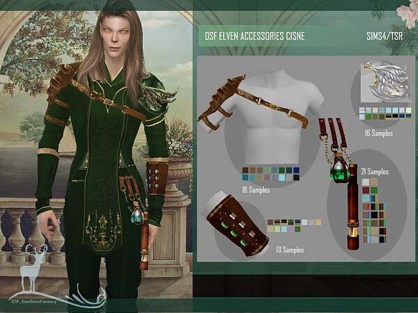 Eleven Accessories Cisne by DanSimsFantasy from TSR