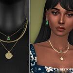 Elio Sims 4 CC Necklace