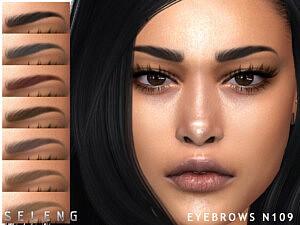 Eyebrows N109 sims 4 cc