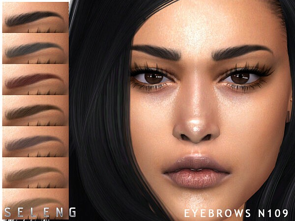 Eyebrows N109 by Seleng from TSR