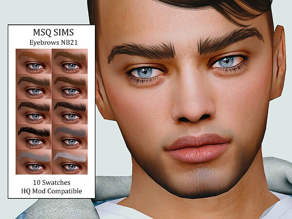 Eyebrows NB21 from MSQ Sims
