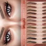 Eyebrows Z02 Sims 4 CC