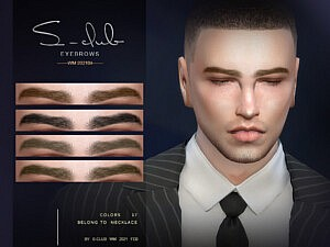Eyebrows for men Sims 4 CC