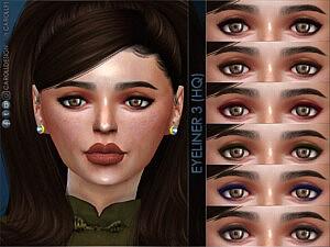 Eyeliner 3 sims 4 cc