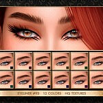 Eyeliner 93 sims 4 cc
