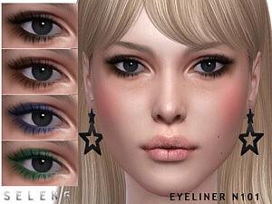 Eyeliner N101 by Seleng