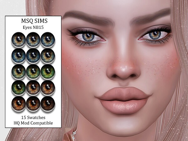 Eyes NB15 from MSQ Sims