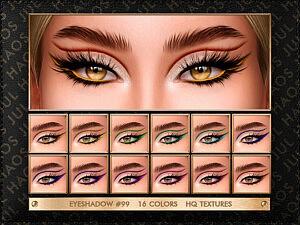 Eyeshadow 99 Sims 4 cc