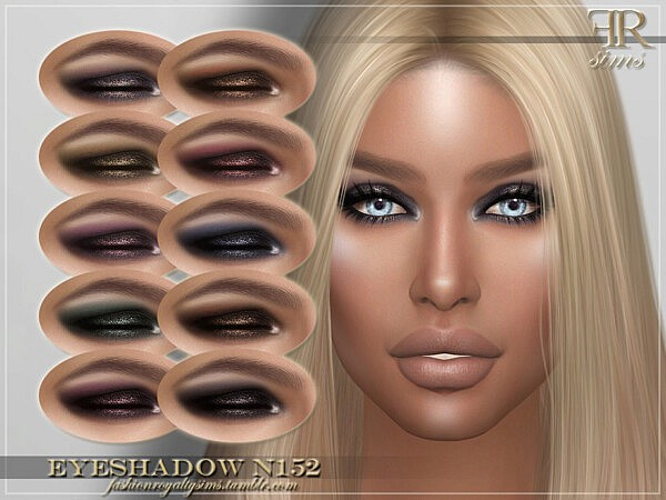 Eyeshadow N152 by FashionRoyaltySims from TSR