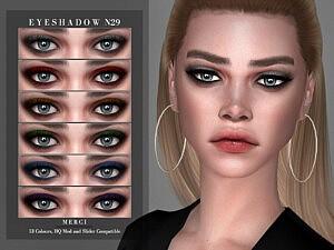 Eyeshadow N29 Sims 4 CC