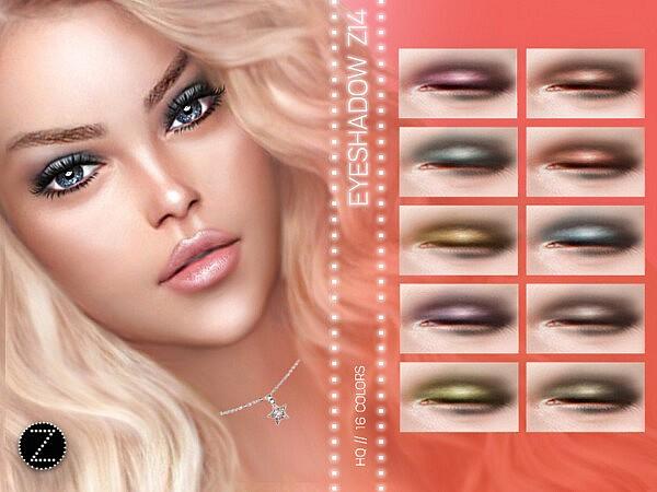 Eyeshadow Z14 sims 4 cc